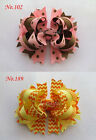 50 BLESSING Good Girl Costume Boutique 5.5 Inch B-Blooming Hair Bow Clip 190 No.