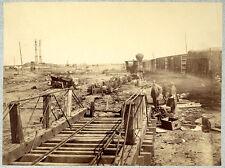 NEW 8x10 Civil War Photo-Ruins at Manassas Junction, Va. after its Evacuation