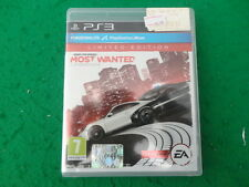 Need For Speed most wanted PS3 Usato ottime condizioni Italiano