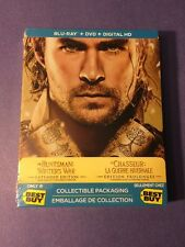 The Huntsman Winter's War Extended Blu-ray Combo *Limited Steelbook Edition* NEW
