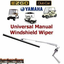 EZGO, Club Car, Yamaha Golf Cart Universal Windshield Wiper Manual