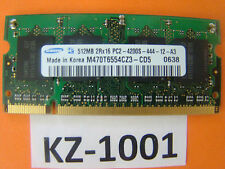 Samsung M470T6554CZ3-CD5 (512 MB, PC2-4200 (DDR2-533), DDR2 RAM, 533 MHz#KZ-1001