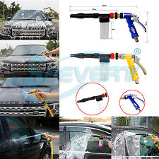 Adjustable Snow Foam Car Wash Spray Gun Lance Pressure Washer Quick Adapter Jet