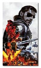 """Metal Gear Solid V 5 The Phantom Pain Snake Poster 5 Silk Fabric Canvas 40""""x24"""""""