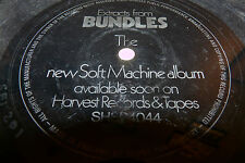 VERY RARE SOFT MACHINE - FLEXI DISC - EXTRACTS FROM BUNDLE - SFI 201 - LOOK