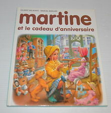 MARTINE Cadeau d'Anniversaire French BOOK Gilbert Delahaye / Marcel Marlier
