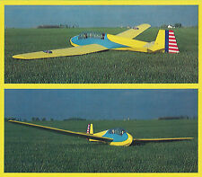 Giant 1/4 Scale Schweizer TG-3 Sailplane Plans, Templates and Instructions