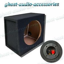 "10"" inch MDF Black Carpet Sub Subwoofer Sealed Enclosure Car Audio Bass Box 25cm"