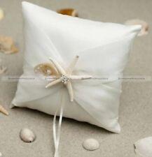1 PC New Muslin Beach Wedding Ring Bearer Pillow Cushion Bridal Pillow HOME123