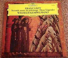 Liszt, 2nd Annees de pelerinage,Deux Legendes,Wilhelm Kempff,Piano,DG 2530 560
