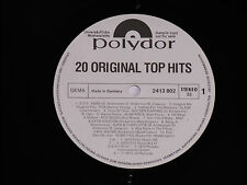 20 ORIGINAL TOP HITS - (Golden Earring, Abba) LP Polydor Promo Archiv-Copy mint