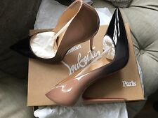 Christian Louboutin So Kate 120 Patent Degrade Black/Nude RARE Size 41 BNIB