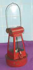 VINTAGE c1930s RAILWAY TRAIN PARAFFIN OIL LAMP LANTERN LYNLIGHT No 2 SHERWOODS