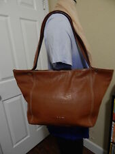 Picard Germany Light Tan Leather Shoulder Bag Tote
