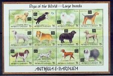 antigua /1994 dogs of the world-large breeds 2s/s /MNH.good condition