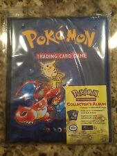 POKEMON NEW Ultra-Pro 4-pocket Collector's Album from 1999!  ORIGINAL WOTC MINT