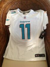 Miami Dolphins NFL Jersey mike wallace new with tags #11 size XL women's