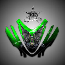 Arctic Cat M7 M8 M1000 Crossfire 05-11 Graphics Decal kit Hood Guardian Green