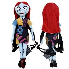 "Tim Burton Jack Skellington Sally 18"" Plush Backpack Tote-Licensed Product--NEW!"