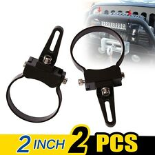 "WOW - 2 X Bullbar Mounting Bracket Clamp 2"" for Driving Work Light Bar HID ARB"