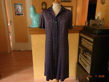 ROBE CHEMISIER VINTAGE 60/70 T40/  DRESS BLOUSE 60/70'S VINTAGE T40