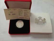 2008 monaco 5 euro silver prince albert II new in box & certificate uncirculated