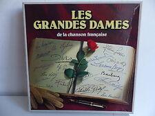 Coffret 10 LP Les grandes dames de la chanson francaise Reader's digest PIAF
