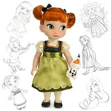 DISNEY ANNA FROM FROZEN ANIMATOR DOLL NEW