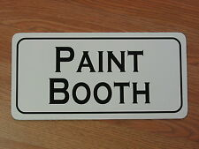 PAINT BOOTH Metal Sign 4 Retro-vintage Tin Auto Body Collision Shop Factory