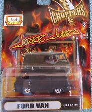 JESSE JAMES West Coast Choppers FORD  VAN BLACK  1:64 MIP