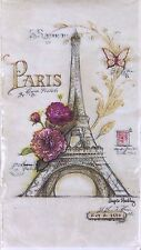 "Cypress Home Paris Eiffel Tower Paper Dinner Napkins 4"" x 8"" ~ 16 Count 2 Ply"