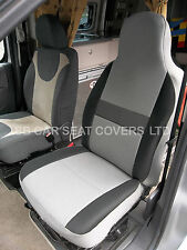 FIAT DUCATO MOTORHOME SEAT COVERS SHEEN GREY SEATING FABRIC