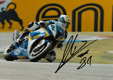 Michel Fabrizio Hand Signed 2012 BMW Racing 7x5 Photo WSBK 2.
