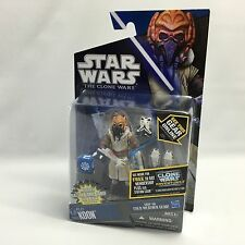 Star Wars The Clone Wars 2011 CW53 PLO KOON (Cold Weather) Action Figure NEW MOC