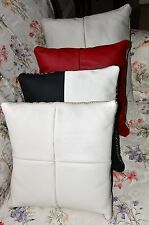 Genuine Leather Cushion Cover 40x40cm Brand NEW Different Colours to Select