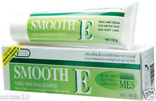 SMOOTH E Anti-Aging Aloe Vera Vitamins Scar Care Natural Cream 100g./3.5oz.