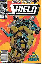Nick Fury Agent of SHIELD #3 (1989 vf 8.0)