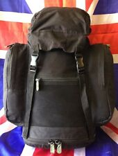 Genuine British Army Black 30L Patrol Field/Day Pack Rucksack or Bergen Grade A