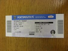 15/09/2012 Ticket: Portsmouth v Walsall  . Thanks for viewing this item, we try