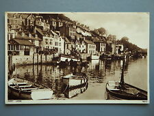 R&L Postcard: West Looe, Fishing Rowing Boats, Photochrom 1937