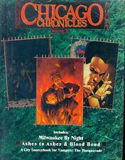 JDR RPG JEU DE ROLE / VAMPIRE THE MASQUERADE CHICAGO CHRONICLES VOLUME 3