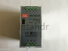 Input 110/220VAC Output 24VDC 5A 120W DR-120-24 Din Rail Mounted Power Supply