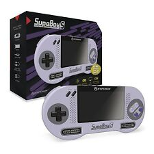 Hyperkin SupaBoy S, Portable Pocket SNES Console (PAL / NTSC) Brand New - Global