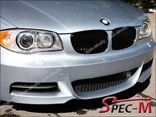 BMW E82 E88 128i 135i Coupe Convertible Front Mist Black Grille Grill 2008-2013