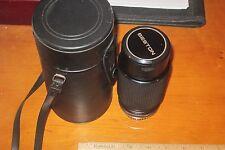 Beston MC Macro Zoom SLR Camera Lens 1:4.5 80-205mm No. 5061577 WITH CAP & CASE