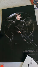 THE HUNGER GAMES MOCKINGJAY Part 1 MOVIE PROMO POSTER 20 x 13.5 UNUSED & NEW!