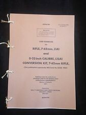 L1A1 7.62mm SLR SELF LOADING RIFLE USER HANDBOOK NORTHERN IRELAND FALKLANDS