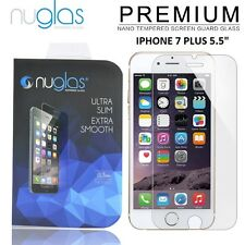 TWIN PACK 100% Genuine Nuglas Tempered Glass Screen Protector for Iphone 7PLUS