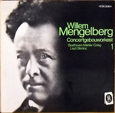 EMI HMV HOLLAND Beethoven Mahler Grieg MENGELBERG Piano Works C-047-01297 NM-
