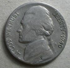 1940-S Jefferson Nickel 'free shipping